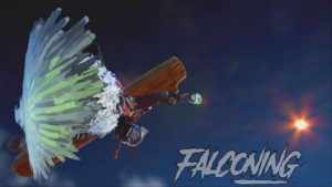 steep falconing